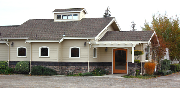 Picture of the exterior of the Garre Wine Tasting Room